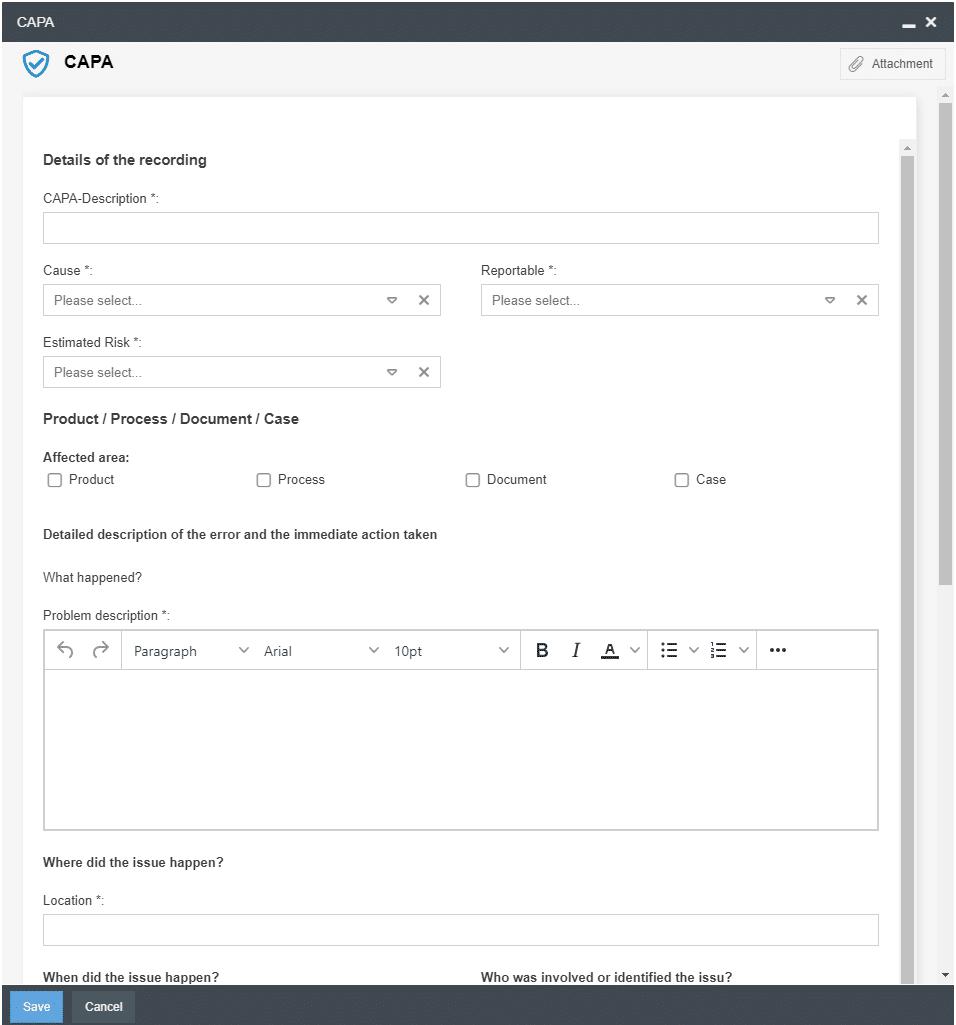 CAPA-Input_form_SmartProcess